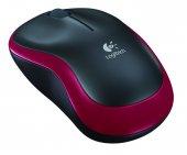 Logitech 910-002237 M185 Kırmızı Kablosuz Mouse