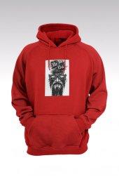 Breaking Bad Heisenberg 15 Kırmızı Kapşonlu Sweatshirt - Hoodie