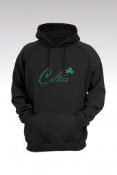 Boston Celtics 28 Siyah Kapşonlu Sweatshirt - Hoodie