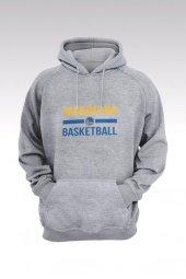 Golden State Warriors 51 Gri Kapşonlu Sweatshirt - Hoodie