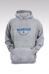 Golden State Warriors 54 Gri Kapşonlu Sweatshirt - Hoodie