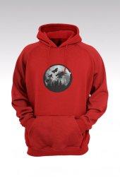 Harry Potter 59 Kırmızı Kapşonlu Sweatshirt - Hoodie