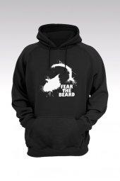 James Harden 77 Siyah Kapşonlu Sweatshirt - Hoodie