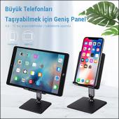 MÜHLEN GL0133  Evrensel, Ayarlanabilir, Katlanabilir Telefon/Tablet Standı
