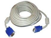 ROSE 50Metre VGA Kablo Beyaz - Kargo Ücretsiz