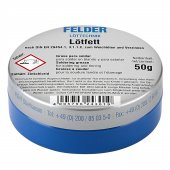 Lötfett Felder Lehim Pastası 50gram - Kargo Ücretsiz