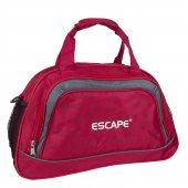 Escape 136 Küçük Omuz Askılı Spor ve Seyahat Çantası Kırmızı