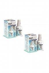 Roll Antiseptik El Cilt Antiseptiği Dezenfektanı 100 Ml 2 Adet