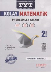 Limit TYT Kolay Matematik Problemler Kitabı 2. Kitap-YENİ