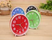 Elba KH-01 Alarm Saatli Analog Saat (yeşil renk)