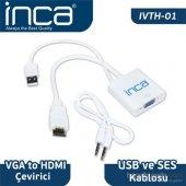 Inca IVTH-01 Vga To Hdmı Çevirici