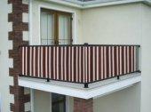 Ceylan Home Balkon Demiri Perdesi  Bağcıklı En 700 Boy 85