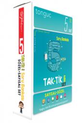 Tonguç Akademi 5. Sınıf Taktikli Tüm Dersler Soru Bankası Seti