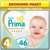 Prima Premium Care Bebek Bezi Ekonomik Paket 4 Beden 46 Adet