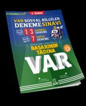 7.SINIF VAR SOSYAL DENEME ARI YAYINLARI
