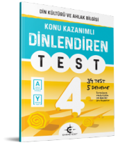 4.SINIF DİNLEDİREN TEST EKER TEST