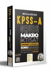 Benim Hocam Yayınları KPSS A Makro İktisat Tamamı Çözümlü