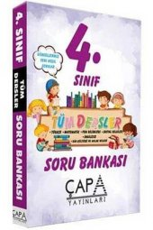 4.Sınıf Tüm Dersler Soru Bankası Çapa Yayınları