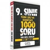 9.Sınıf Türk Dili ve Edebiyatı Soru Bankası Çapa Yayınları