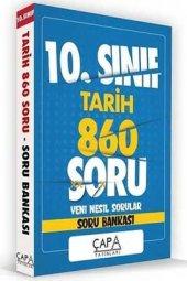 10.Sınıf Tarih Soru Bankası Çapa Yayınları