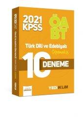 Yediiklim Yayınları 2021 ÖABT Türk Dili ve Edebiyatı