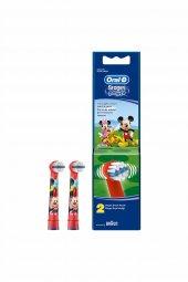 Diş Fırçası Yedek Başlığı Stages Arabalar Çocuk 2li