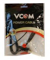 Vcom CE033-1.5MT Amerikan Uçlu Teyp Power Kablosu