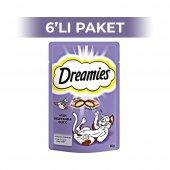 Dreamies Ördekli Kedi Ödül Maması 60 gr (6 adet)