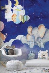 Gökyüzü Ve Hayvanlar   Hayvanlar Doğa   Özel Tasarım Duvar Kağıdı   300x500h