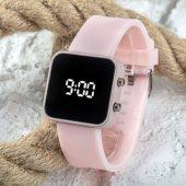 Yeni Pinkoli Pembe Renk Dijital Led Ekran Büyük Kız Çocuk Genç Kadın Saati ST-303756