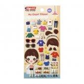 Bigpoint Sticker Kıyafet Giydir Daily