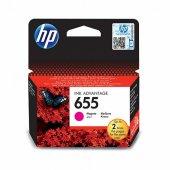 HP 655 Magenta Kırmızı Kartuş CZ111AE