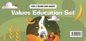 Okul Öncesi İngilizce Değerler Eğitimi Seti 4 Yaş - Fazilet Çocuk