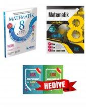 8. Sınıf LGS Matematik  Soru Bankası Referans Yayınları ve Muba Yayınları SET