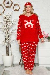 Erb  Welsoft Polar Kadın Büyük Beden Pijama Takımı 8116