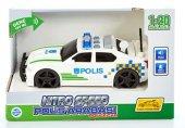 Nitro Speed 1:20 Polis Arabası (Yeşil Beyaz)