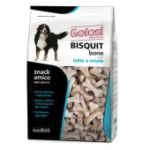 Golosi Bisquit Sütlü ve Ballı Köpek Ödül Bisküvisi 600 Gr