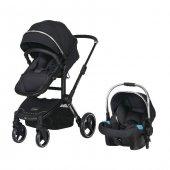 Prego 2079 Quattro Vip Travel Sistem Bebek Arabası Silver