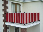 Ceylan Home Balkon Demiri Perdesi Kuş Gözü Metal Halka 450 x 75