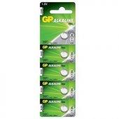 GP GP191-C5 LR55 Alkalin 1.5V Düğme Pil 5li Paket