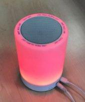 Elba S11 rgb Işıklı Bluetooth Hoparlör