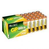 Gp R6 AA Boy Ultra Alkalin Kalem Pil 40lı Paket GP15AU-2B40
