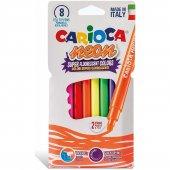 Carioca Neon Yıkanabilir Keçeli Kalem 8li
