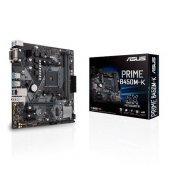 ASUS AM4 B450 DDR4 Prime B450M-K 4x Sata 1x M2 2280 DVI AMD Ryzen Graphics 4x (PCIe) mATX