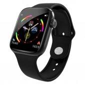 Tam Dokunmatik Ekran W4  Su Geçirmez Akıllı Saat-bileklik-bilezik-spor (siyah)