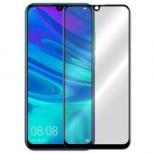 Huawei Y7 2019  Beyaz Kırılmaz Cam Ekran Koruyucu 5D
