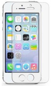 İphone 8 Plus Beyaz Kırılmaz Cam Ekran Koruyucu 5D
