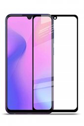 SAMSUNG A 40 BEYAZ Kırılmaz Cam Ekran Koruyucu 6D