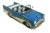 1957 Chevrolet Dekoratif Metal Araba Üstü Açık Klasik Araba Hediyelik