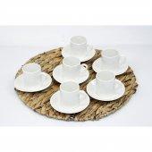 Evs Kahve Fincanı Sade 12 Parça Pure